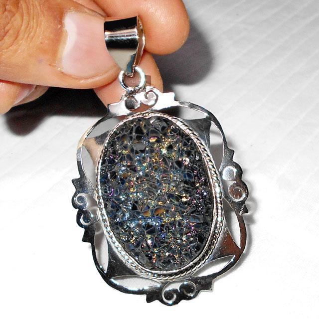 Titanium drusy g wmp953 fabulous fashion trendy pendants with titanium drusy g wmp953 fabulous fashion trendy pendants with silver plating ger aloadofball Image collections