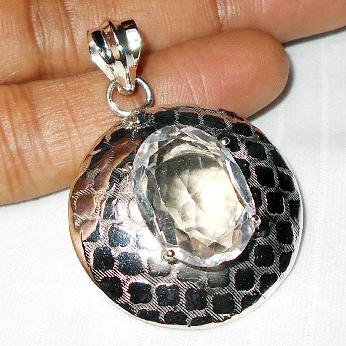 Crystal cut c wmp938 rock crystal fashion trendy pendants wholesale aloadofball Images