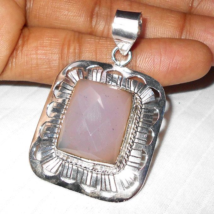 Rose quartz a wmp939 fabulous fashion trendy pendants with german rose quartz a wmp939 fabulous fashion trendy pendants with german silver aloadofball Image collections
