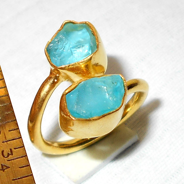Apatite C - BSR920-Glorious Fashion Rings Adjustable