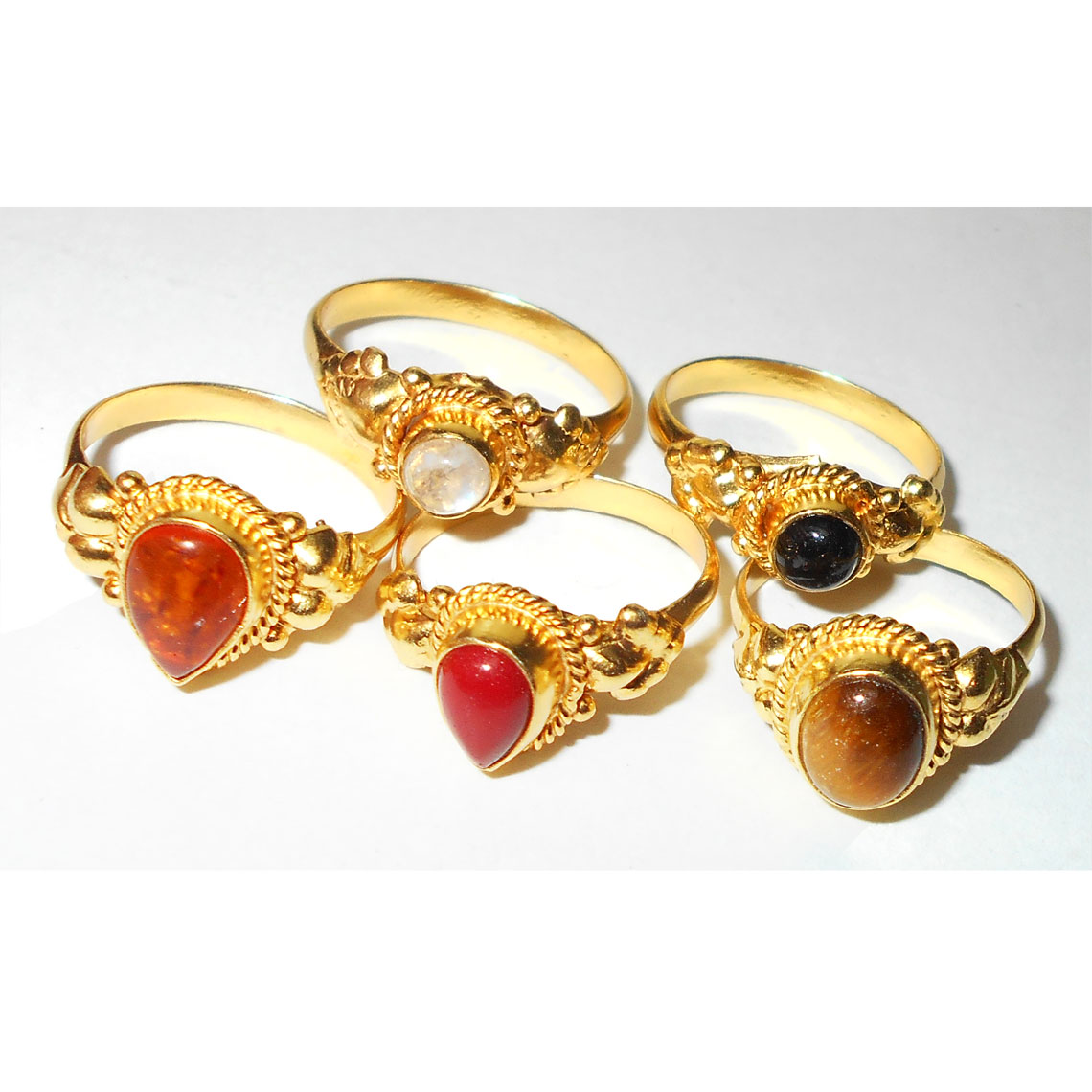 Ladies Designer Rings | Mix Cab Stones F Bvp980 Stylish Fashion Girl Finger Rings Baby