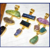 Rough stone Pendants